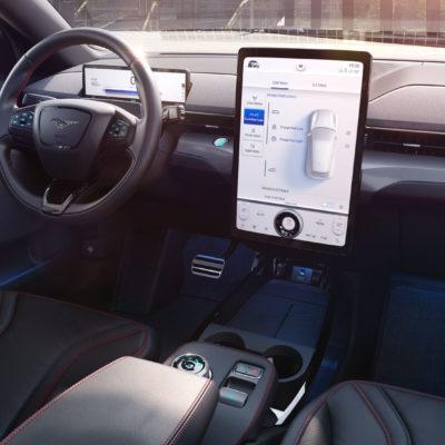 Interiér Fordu Mustang Mach-E