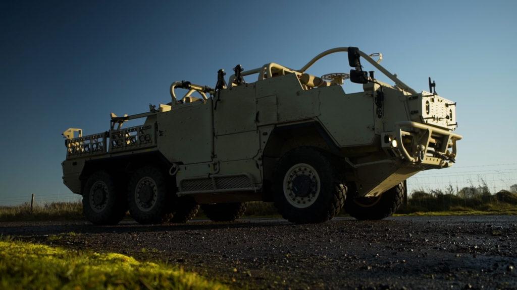 Bojové vozidlo HMT400 Jackal