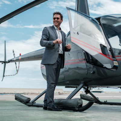 Soukromý vrtulník