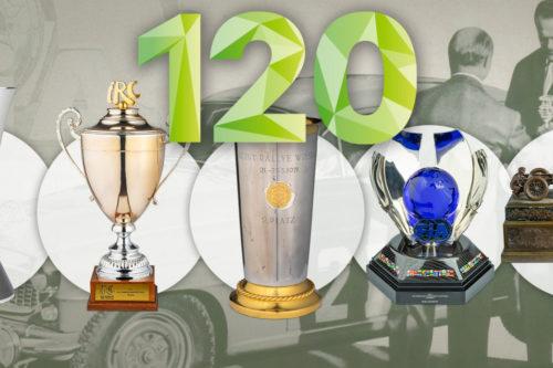 Trofeje z rallye závodů