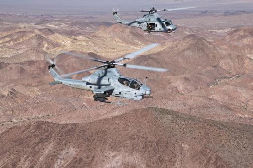 Vrtulníky Bell H-1