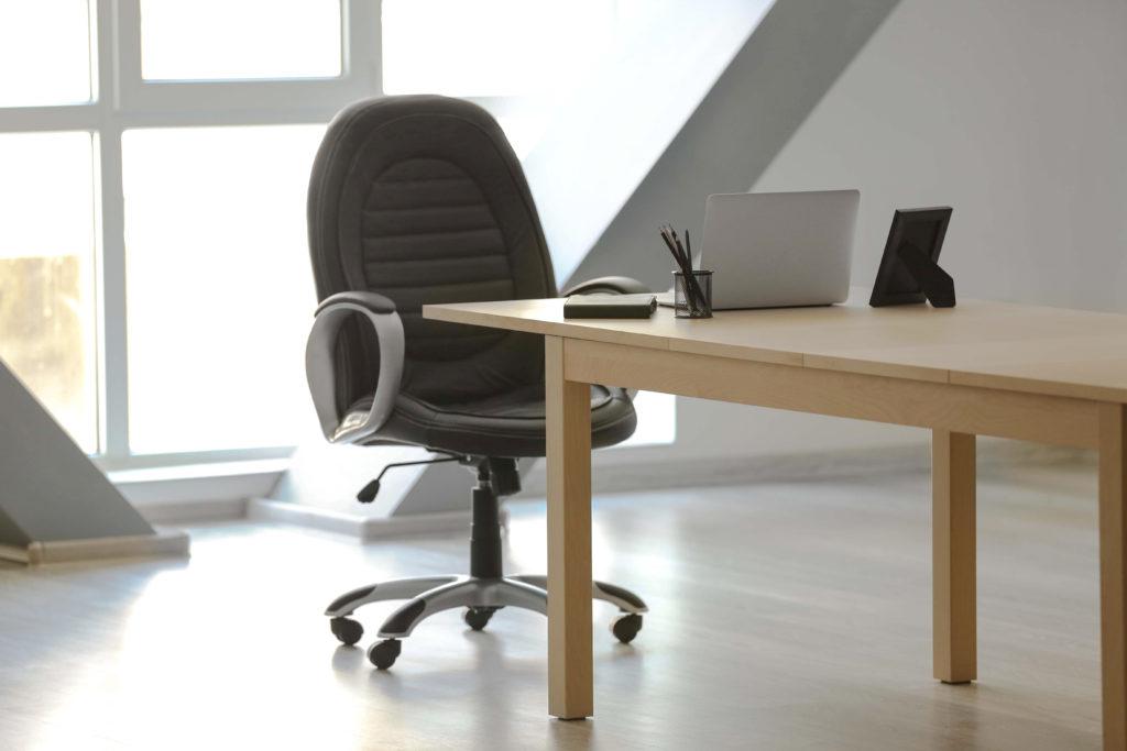 Správná židle je základ