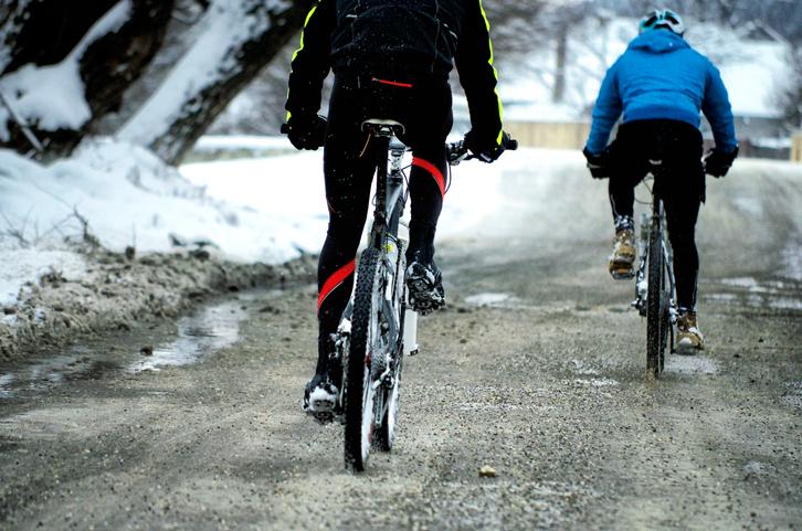 Zimní cyklistika
