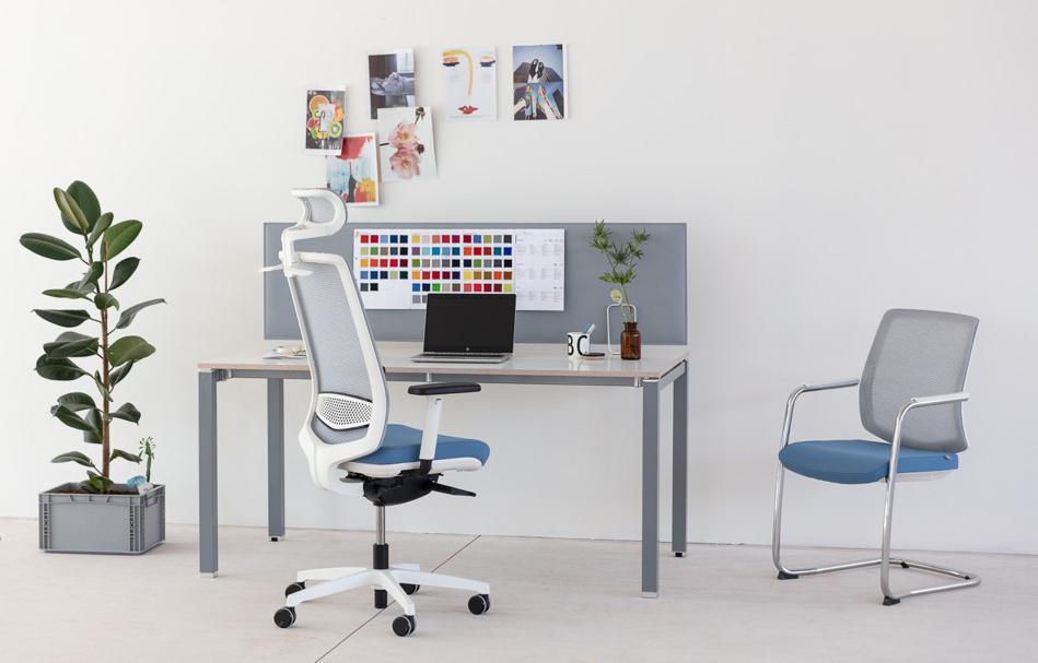 Správná kancelářská židle by měla umožňovat tzv. dynamické sezení