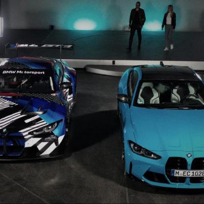 BMW M4 Competition versus BMW M4 GT3