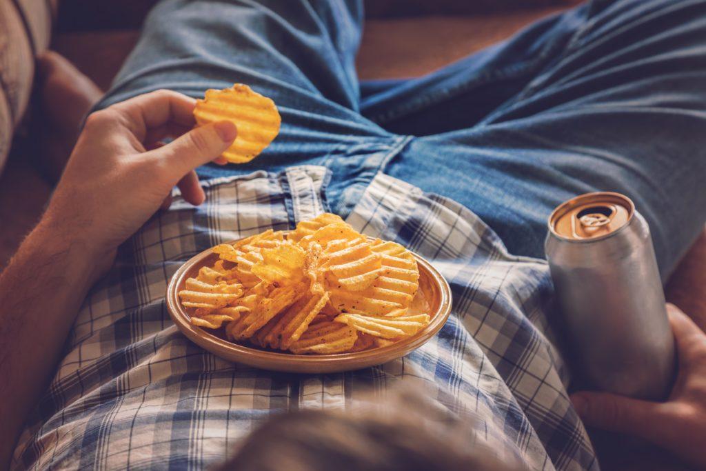 Tučné potraviny a spánek nejdou dohromady