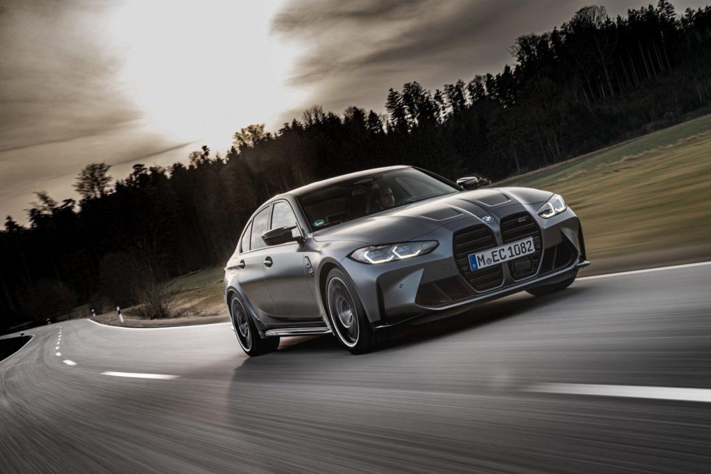 Nové BMW M3 s pohonem xDrive