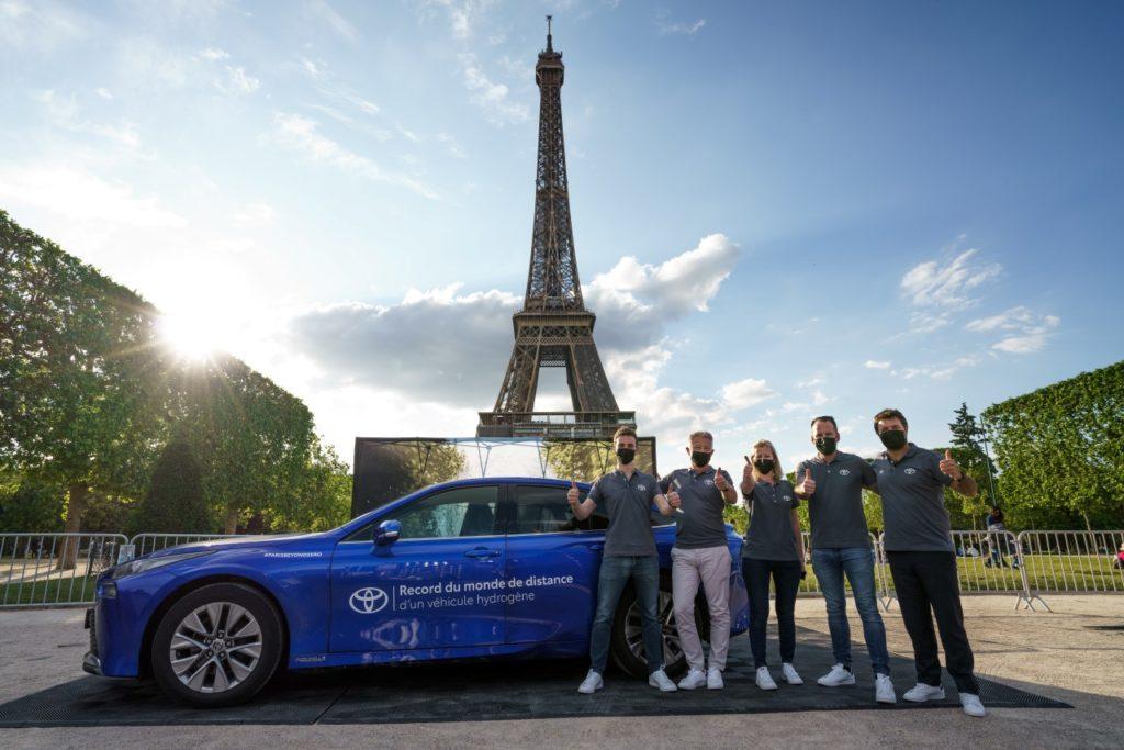 Vodíková Toyota Mirai pokořila rekord
