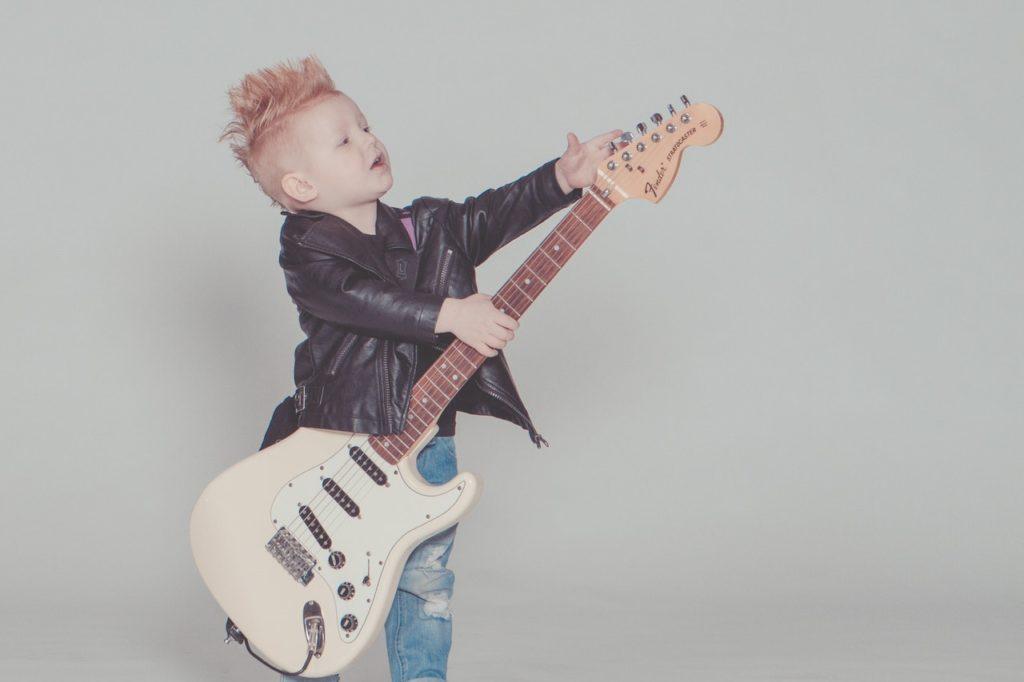Dítě muzikant