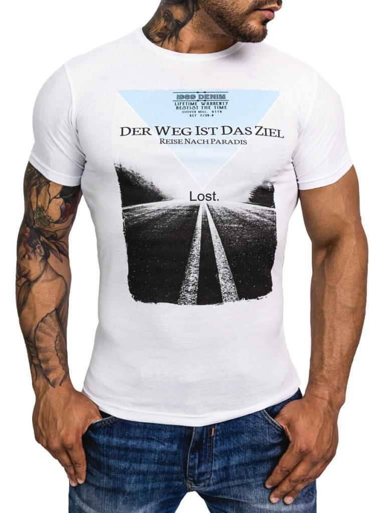 Pánská móda - tričko