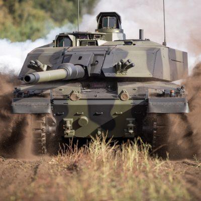 Rheinmetall DSEI Challenger 3