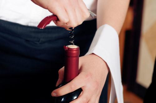 Otevírání vína